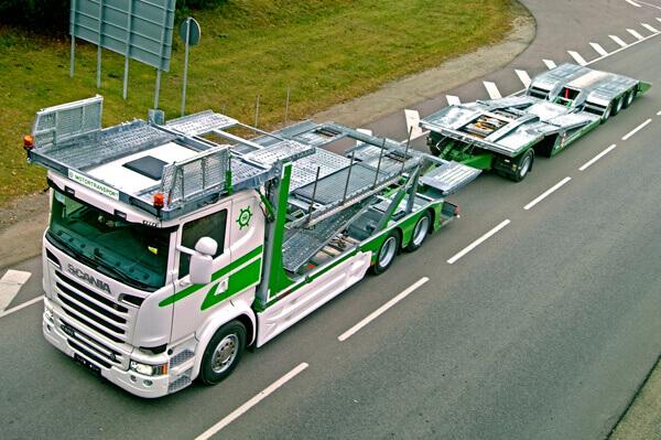 MEGATRANS superstructure with MULTITRANS trailer