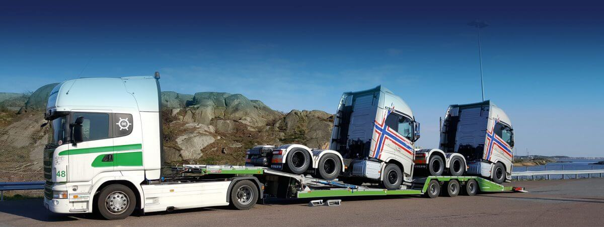 MULTITRANS trailer carrying trucks