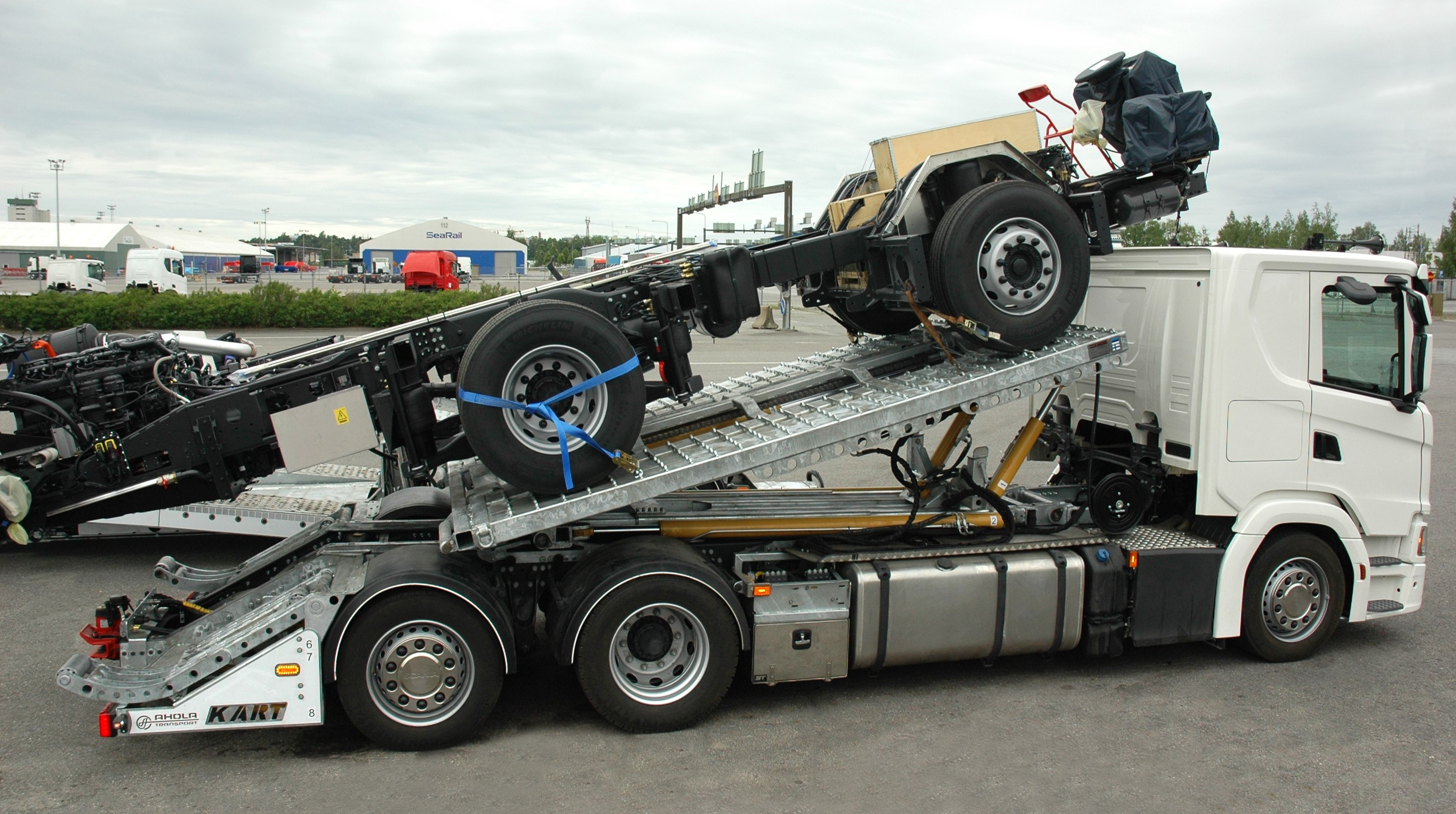 KART Evacuator | Heavy Duty Transporter